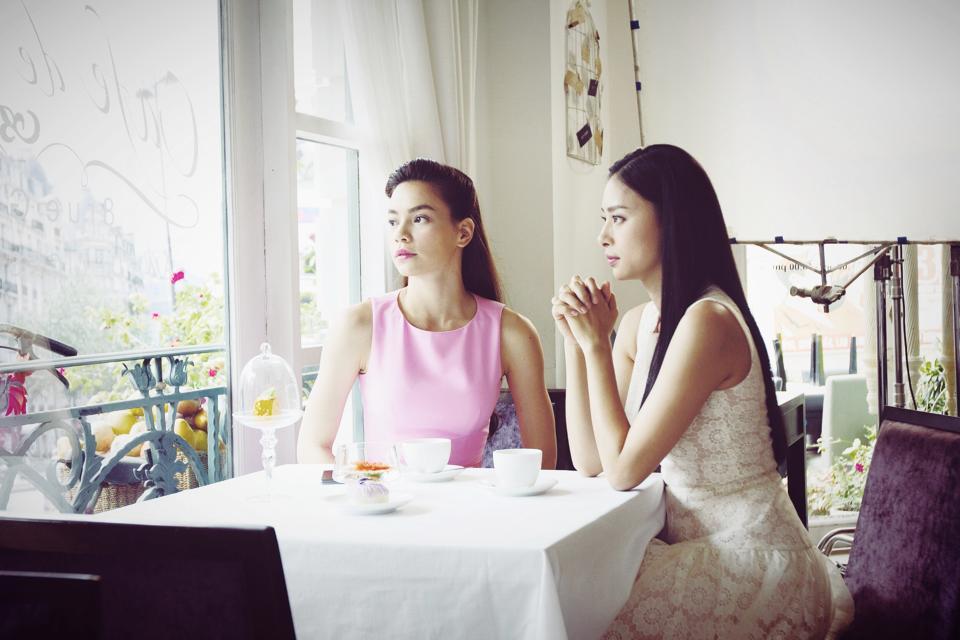 Hồ Ngọc Hà và Ngô Thanh Vân trong quảng cáo của hãng Yamaha