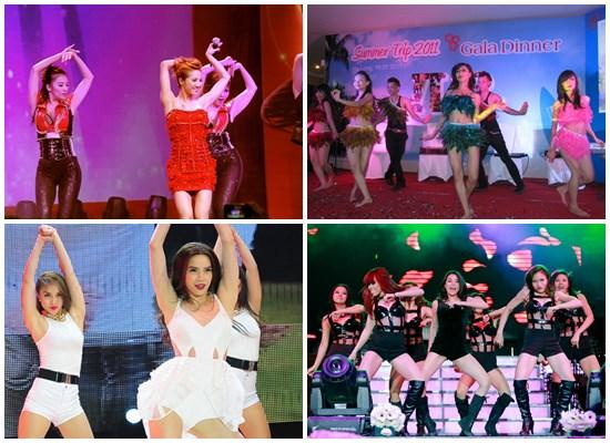 Cung cấp nhóm nhảy hiện đại