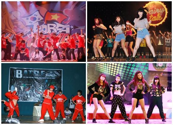 nhóm nhảy hiphop