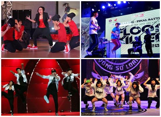Cung cấp nhóm nhảy hiphop