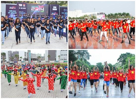 nhóm nhảy flashmob