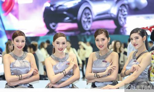 Người đẹp khoe dáng tại triển lãm ôtô lớn nhất Thái Lan (4)