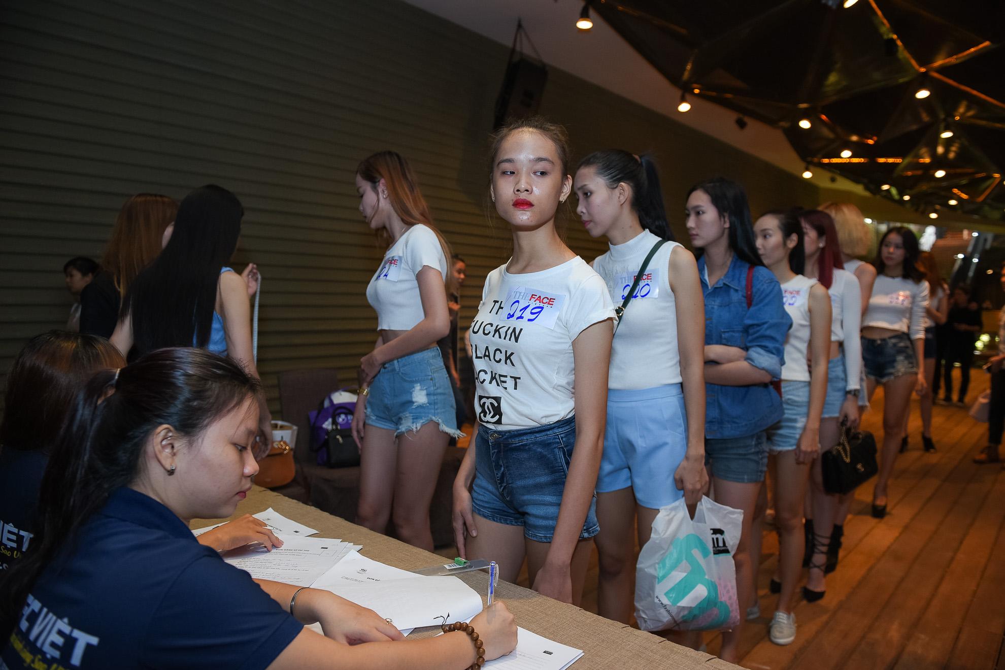 Người mẫu Victoria's Secret tại The Face Việt