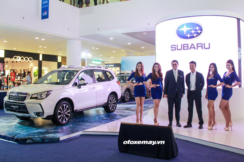 Ra mắt xe Subaru Forester tại Việt Nam